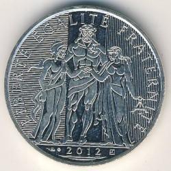 Moneda > 10euros, 2012-2013 - Francia  (Hércules) - obverse