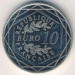 Moneda > 10euros, 2012-2013 - Francia  (Hércules) - reverse