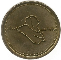 Munt > 50dinars, 2004 - Irak  - obverse