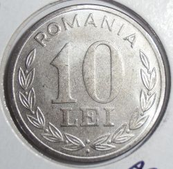 Munt > 10lei, 1993-2003 - Roemenië  - obverse
