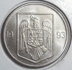 Munt > 10lei, 1993-2003 - Roemenië  - reverse