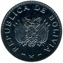 Coin > 5centavos, 1987 - Bolivia  - obverse