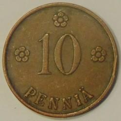 Münze > 10Penny, 1927 - Finnland  - reverse