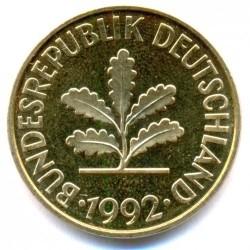 Münze > 10Pfennig, 1992 - Deutschland  - obverse