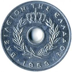 العملة > 10ليبتا, 1954-1971 - اليونان  - obverse