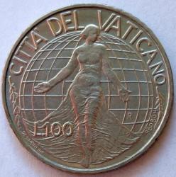 Minca > 100lire, 1998 - Vatikán  - reverse