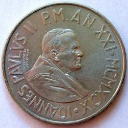 Moneta > 100lirów, 1999 - Watykan  (Prawo do pokoju) - obverse
