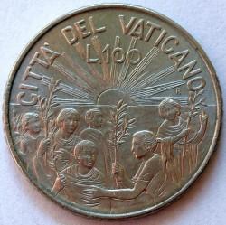 Moneta > 100lirów, 1999 - Watykan  (Prawo do pokoju) - reverse