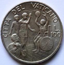 Minca > 100lire, 1994 - Vatikán  - reverse