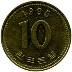 Moeda > 10won, 1983-2006 - Coreia do Sul  - reverse