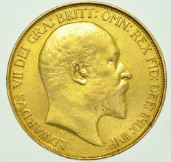 Moneta > 5funtów, 1902 - Wielka Brytania  - obverse