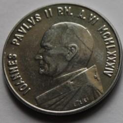 Mynt > 50lire, 1984 - Vatikanstaten  - obverse