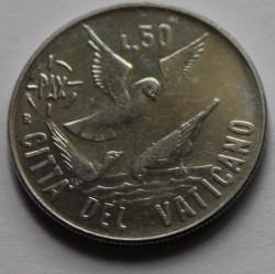 Mynt > 50lire, 1984 - Vatikanstaten  - reverse
