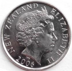 Minca > 50cents, 2006-2019 - Nový Zéland  - obverse