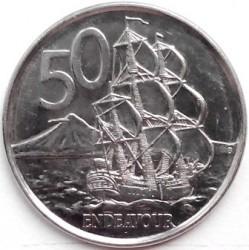 Minca > 50cents, 2006-2019 - Nový Zéland  - reverse