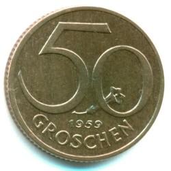 سکه > 50گروشن, 1959 - اتریش   - reverse