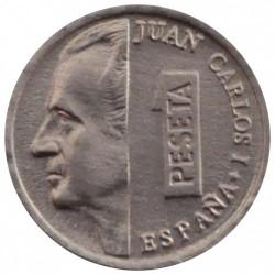 Münze > 1Peseta, 1989-2001 - Spanien  - obverse