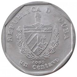 Moneta > 1centavo, 2000-2015 - Kuba  - obverse