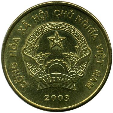Mynt > 2000 dong, 2003 - Vietnam - obverse ...
