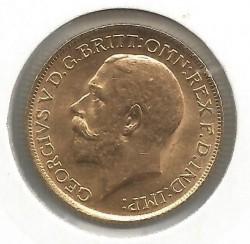 Minca > 1pound(sovereign), 1912 - Veľká Británia  - obverse