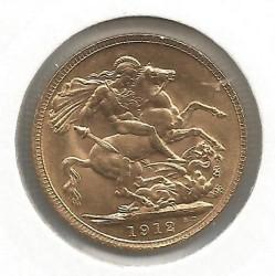 Minca > 1pound(sovereign), 1912 - Veľká Británia  - reverse