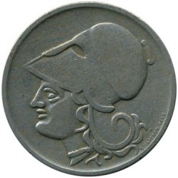 Монета > 1драхма, 1926 - Греція  - reverse