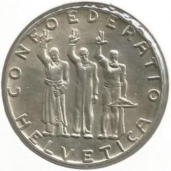Moneta > 5franchi, 1941 - Svizzera  (650° Anniversario - Confederazione Svizzera) - obverse