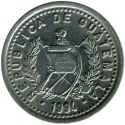 Moneta > 10centavos, 1976-2008 - Gwatemala  - reverse