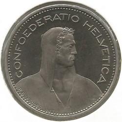 Moneta > 5franków, 1994 - Szwajcaria  - obverse