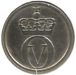 Mynt > 10ore, 1958 - Norge  - obverse