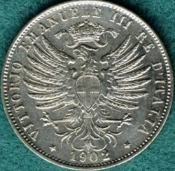 العملة > 25سنتيسيمي, 1902-1903 - إيطاليا  - obverse