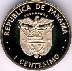 Монета > 1сентесимо, 1975-1982 - Панама  - obverse