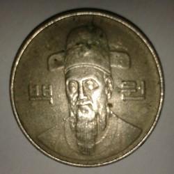 Moneta > 100vonų, 1985 - Pietų Korėja  - obverse