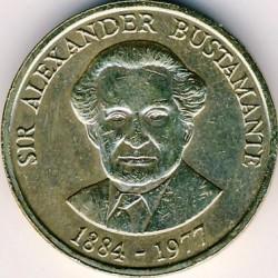 Pièce > 1dollar, 1990-1993 - Jamaïque  - reverse