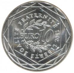 Moneda > 10euros, 2011 - Francia  (Regiones francesas - Lorena) - reverse