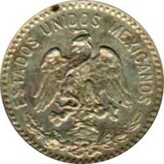 Moneta > 20centavos, 1905-1914 - Messico  - obverse