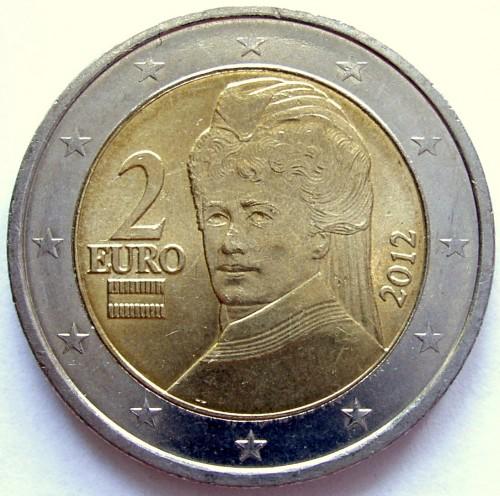 2 Euro 2008 2018 österreich Münzen Wert Ucoinnet