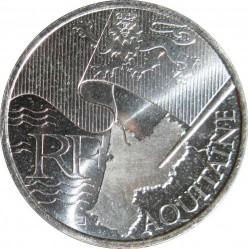 Moneta > 10eurų, 2010 - Prancūzija  (French Regions - Aquitaine) - obverse