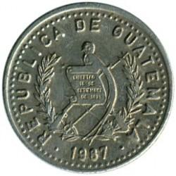 سکه > 5سنتاوو, 1978-2008 - گواتمالا  - obverse