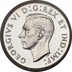 Moneta > 25centai, 1937-1947 - Kanada  - obverse