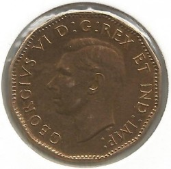 Moneta > 5centów, 1943 - Kanada  - reverse