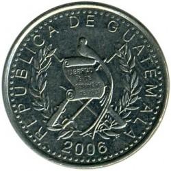 Moneda > 10centavos, 1976-2008 - Guatemala  - obverse