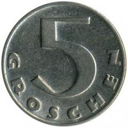 Moneda > 5groschen, 1931-1938 - Austria  - reverse
