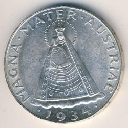 Moneda > 5chelines, 1934-1936 - Austria  - reverse