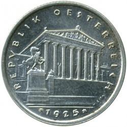 Moneda > 1chelín, 1925-1932 - Austria  - obverse