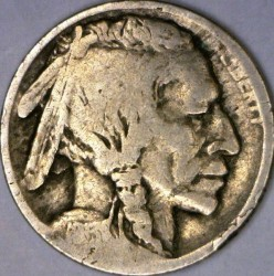 Minca > 5cents, 1913 - USA  (Buffalo Nickel) - obverse