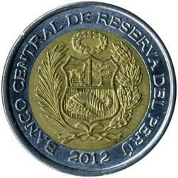 Monēta > 2jauniesoli, 2010-2015 - Peru  - obverse