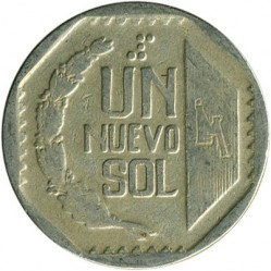 Moneta > 1nuevosol, 1991-2000 - Perù  - obverse