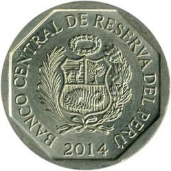 Кованица > 1новисол, 2012-2015 - Перу  - obverse
