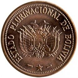 Coin > 10centavos, 2010-2012 - Bolivia  - reverse